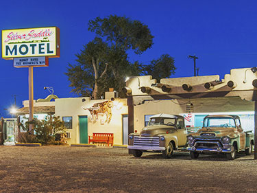 Santa Fe Silver Saddle Motel Is A Kitschy Western Style That Has Been Welcoming Budget Travelers For The Past 50 Years